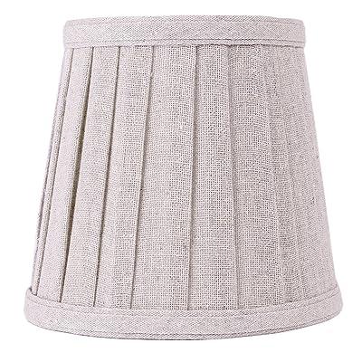 Abat Jour Conique En Tissu Pour Lampe De Chevet Table Decoration