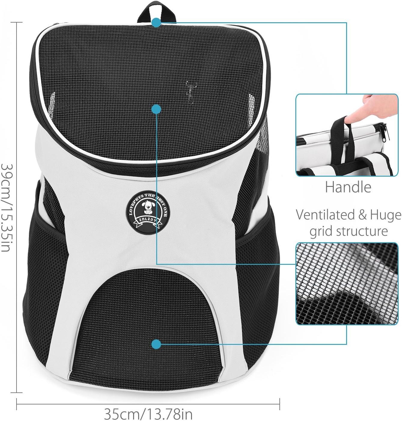 um Ihr Tier sicher und komfortabel zu halten geeignet f/ür Tiere unter 7KG Enledy Hundetasche,Hundetragetasche,Katzentragetasche,Tragetasche Transporttasche Transportbox f/ür Kleine Hunde und Katzen