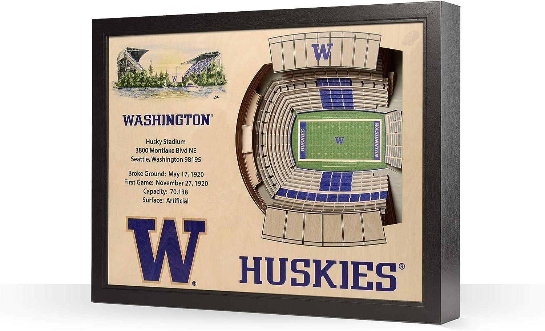 YouTheFan NCAA 25-Layer 25.5 x 19.5 StadiumViews 3D Wall Art Renewed