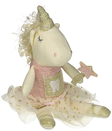 Mud Pie Women S Unicorn Tooth Fairy Pink One Size
