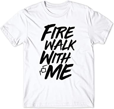 LaMAGLIERIA Camiseta Hombre Twin Peaks Fire Walk with Me Black ...