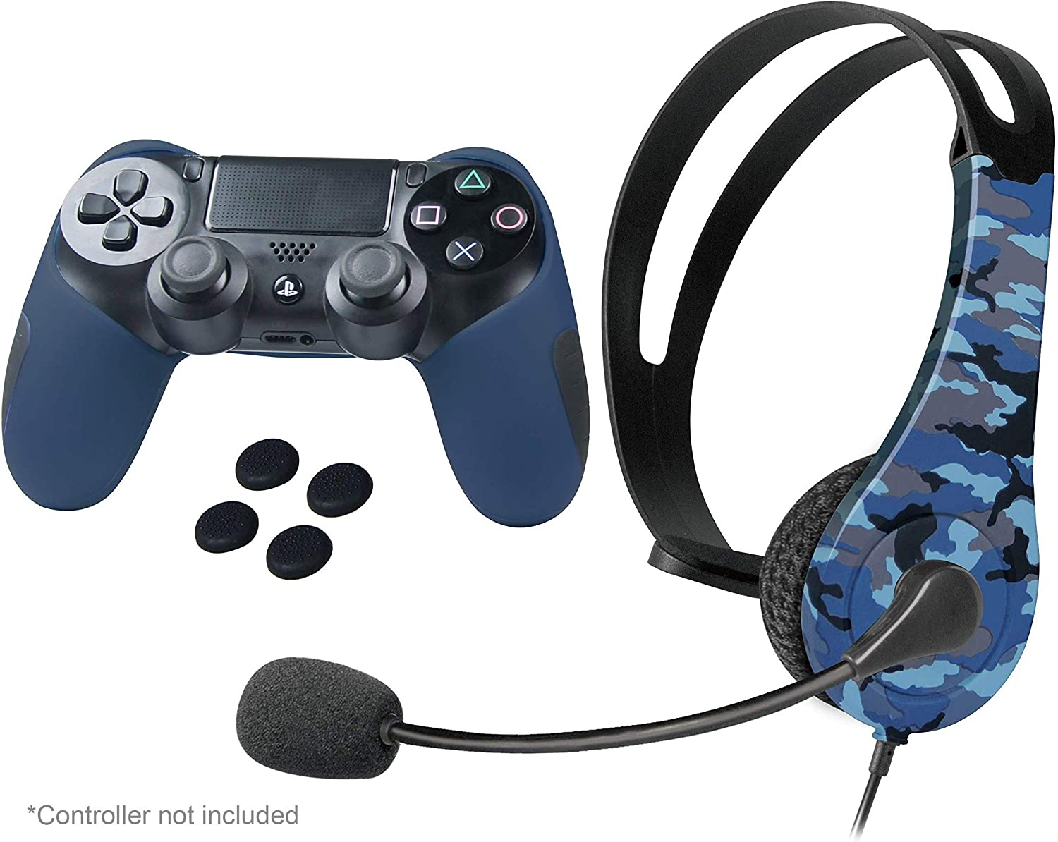 Amazon Com Imw Military Pack For Ps4 Blue Playstation 4