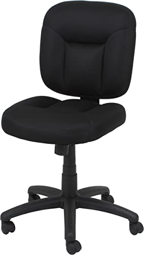 OFM Essentials Collection Armless Task Chair, in Black ESS-101-BLK