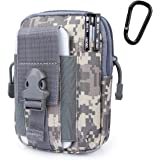G4Free Tactical Molle Pouch Compact EDC Purse Utility Gadget Waist Bag Pack CCW Fanny Pack with Cell Phone Holster for iPhone 6 Plus