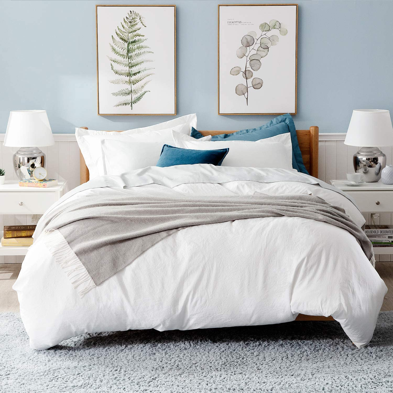 Gentry Duvet Cover Neutral Twin