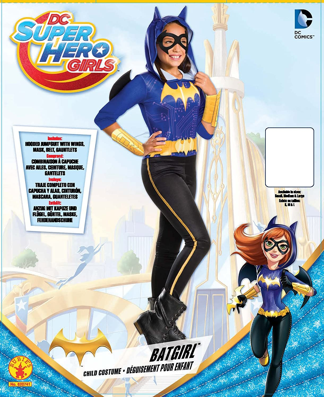 Rubies Costume Kids DC Superhero Girls Batgirl Costume, Large