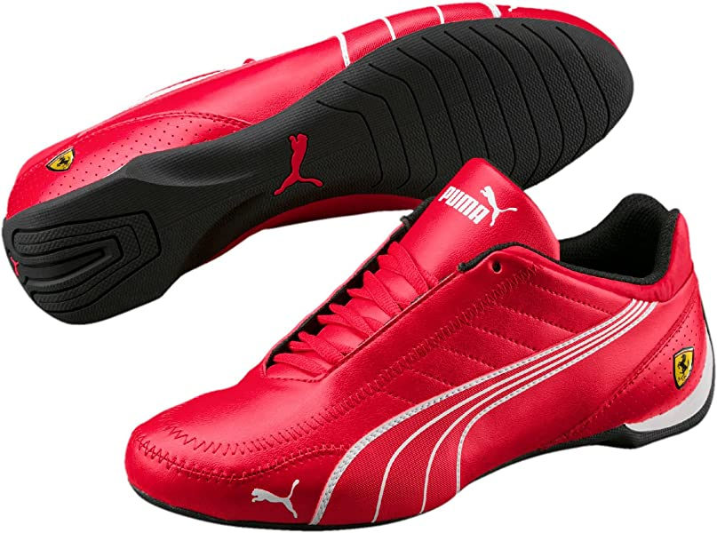 35628a2eea5 PUMA Mens Ferrari SF Future Cat Kart Driving Athletic Shoes in Rosso Red  (10)