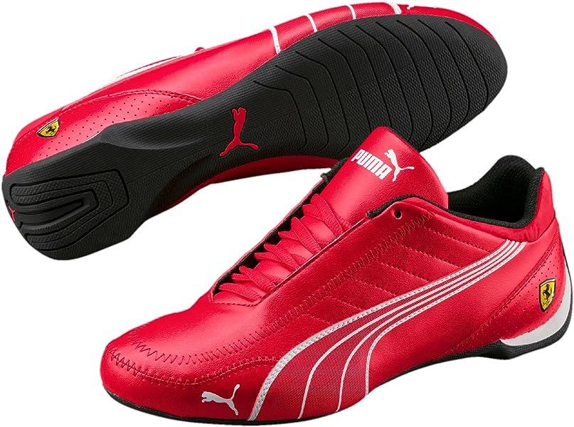 1446b1ee79cf PUMA Mens Ferrari SF Future Cat Kart Driving Athletic Shoes in Rosso Red (10 )