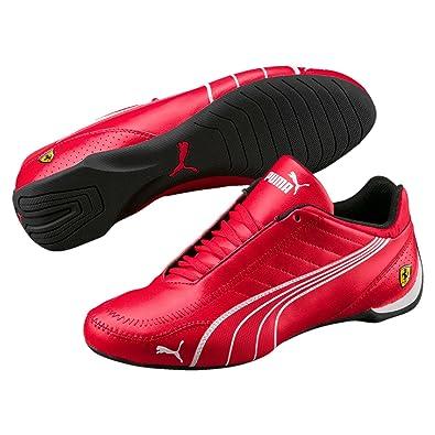 928c7ae642 PUMA Mens Ferrari SF Future Cat Kart Driving Athletic Shoes in Rosso Red  (11)