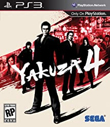 Yakuza 4 - Playstation 3: Video Games - Amazon com