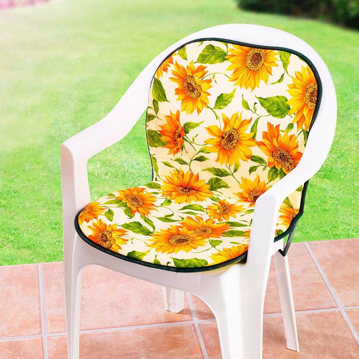 Stuhlauflage Sonnenblume