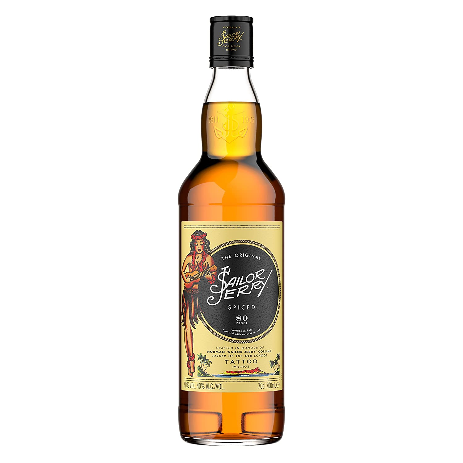sailor jerry spiced rum 70cl amazon co uk prime pantry