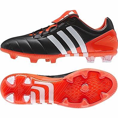 new styles 311d9 f78ac ... get adidas predator mania fg bota de fútbol negra blanca solar red  30ee7 8f7b0