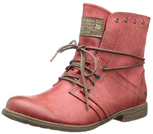 Womens Boots Red (5 Rot)