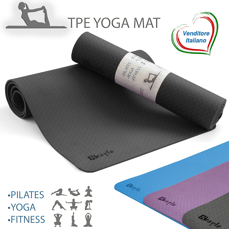 kesyle® Fitness Mat 2.0 | 100% ecológico sin Olor | Fitness ...
