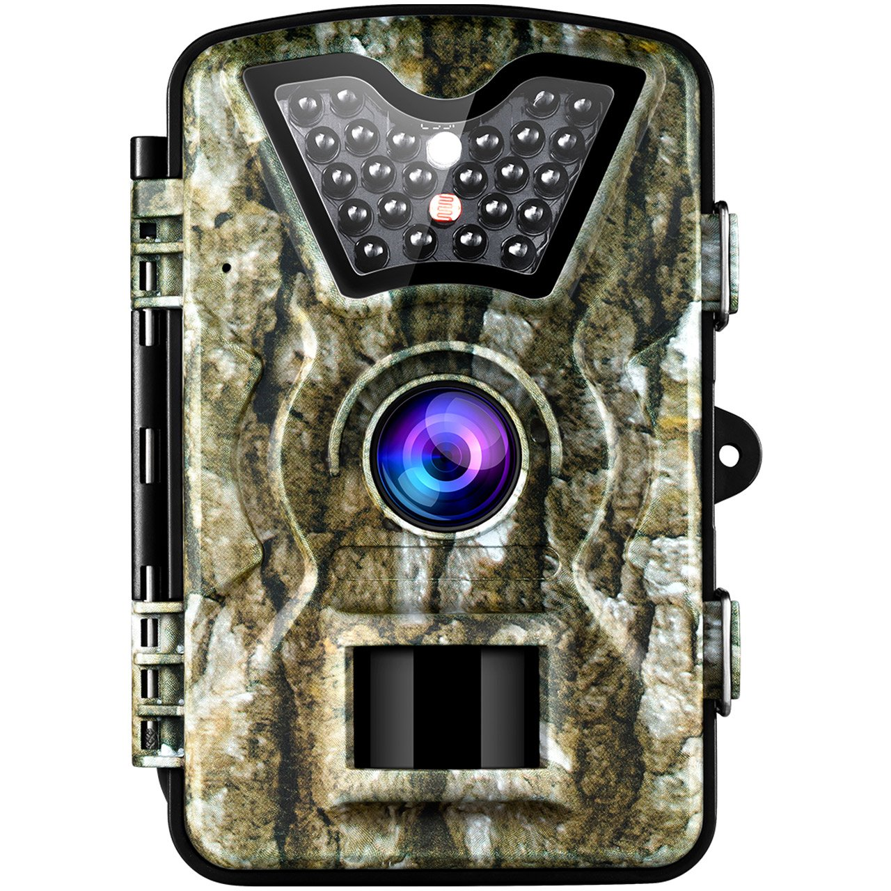 VicTsing Trail Camera, IP66 Waterproof Hunting Camera with 2.4'' LCD Screen,Fast Trigger Game Cam with PIR Sensor, Night Vision, Low Glow Tech for Wildlife Observation, Securtiy