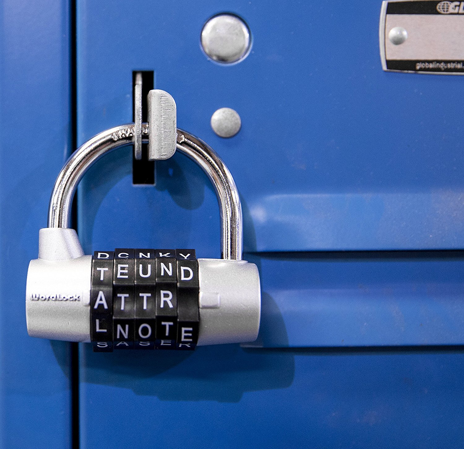 Wordlock PL-003-SL 5-Dial Combination Padlock, Silver 2pack by World and Main-Exclusives (Image #5)
