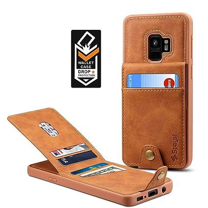Amazon.com: Samsung Galaxy S9 Wallet Case para Galaxy S9 ...
