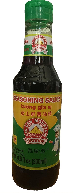 Golden Mountain Seasoning Soybean Sauce - 6.8 fl oz bottle