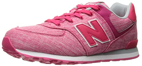 New Balance Kl574cxp M, Zapatillas Unisex Niños, Rosa (Pink/white), 23 EU Niño Grande