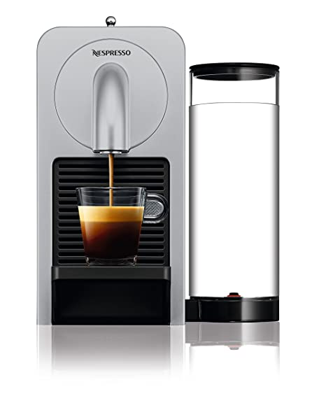 Nespresso EN170.S Cafetera, 1150-1260 W, eyección automática de cápsulas, 19 Bares de presión, 1260 W, 0.8 litros, Plata
