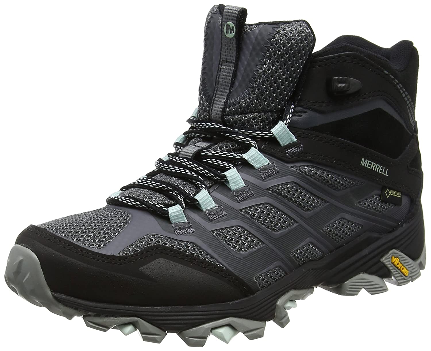 43e6cc3affa Merrell Women's Moab FST Mid Gore-tex High Rise Hiking Boots: Amazon.co.uk:  Shoes & Bags