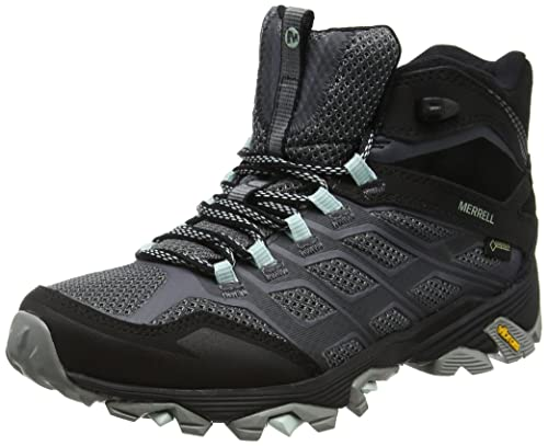 faf20c645be Merrell Women's Moab FST Mid Gore-tex High Rise Hiking Boots