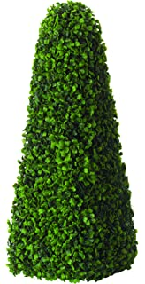 Boxwood Obelisk 60cm Box Pyramid Artificial Buxus No Maintenance Smart Garden