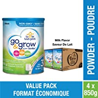 Similac Go & Grow By Similac Step 3 Toddler Drink, Powder, 4 X 850 G, Milk Flavour 3400 Gram