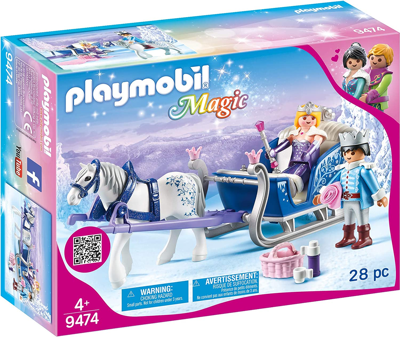 Playmobil - Couple royal et calèche - 9474