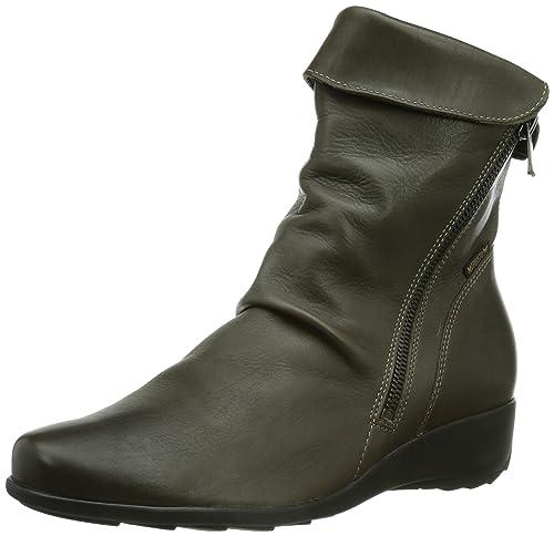 Mephisto SEDDY Texas 7925 Pewter - Botas de Cuero Mujer: Amazon.es: Zapatos y complementos