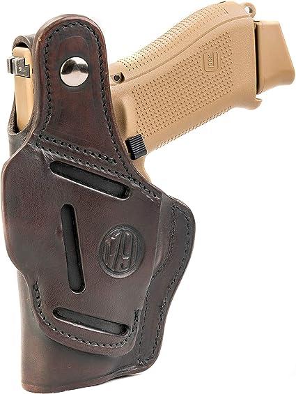 Springfield XD Mod 2 45 3.3 inch Ambidextrous OWB Belt Slide Holster Brown