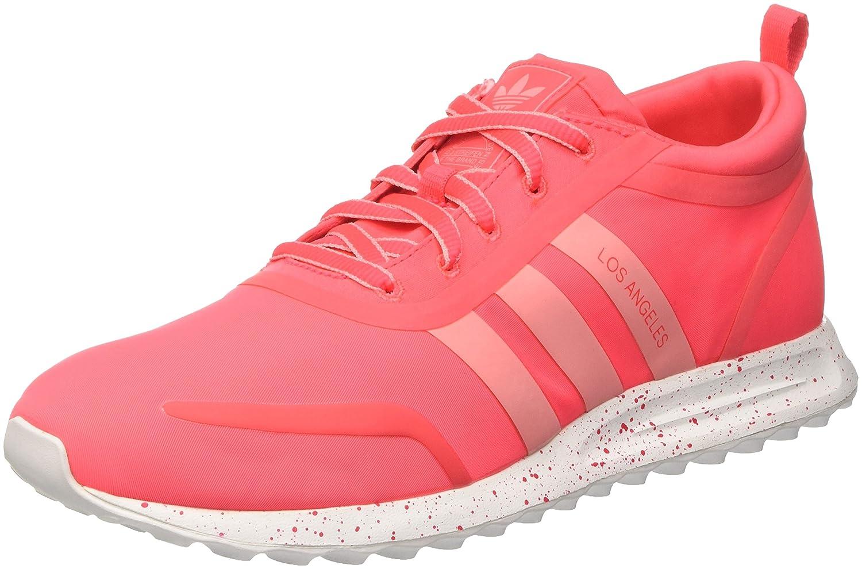 Adidas los Angeles W, Zapatillas de Gimnasia para Mujer 37 1/3 EU|Multicolor (Shored/Raypnk/Ftwwht)