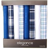 Boîte Cadeau Retreez de 8 Mouchoirs Assortis en Pur Coton pour Hommes