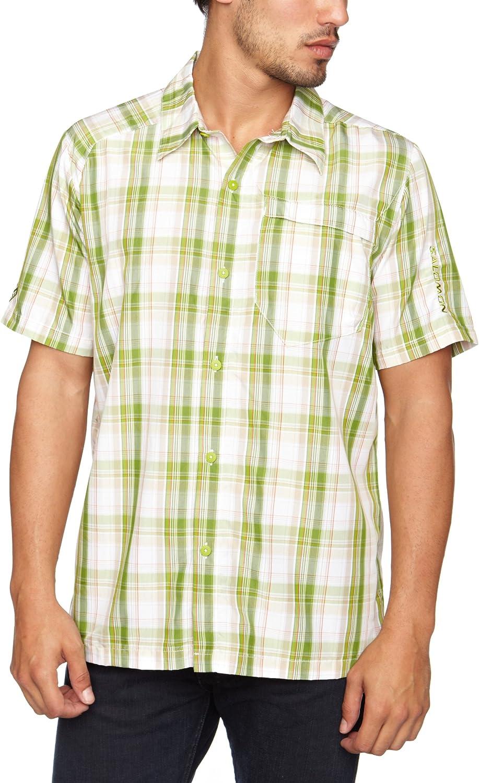 SALOMON Tracks Camisa para Hombre, tamaño S, Color Blanco: Amazon.es: Ropa y accesorios