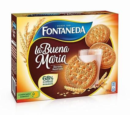 Fontaneda La Buena Maria Dorada Ilustrada Galletas - 700 gr