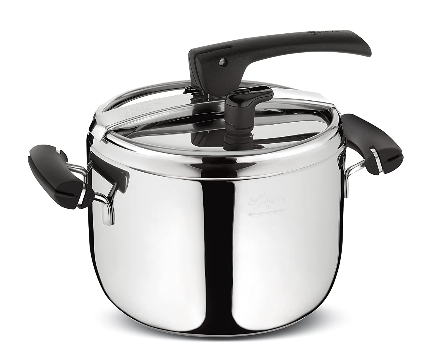 Lagostina Preziosa - pressure cookers (Stainless steel, Black, Stainless  Steel): Amazon.co.uk: Kitchen & Home