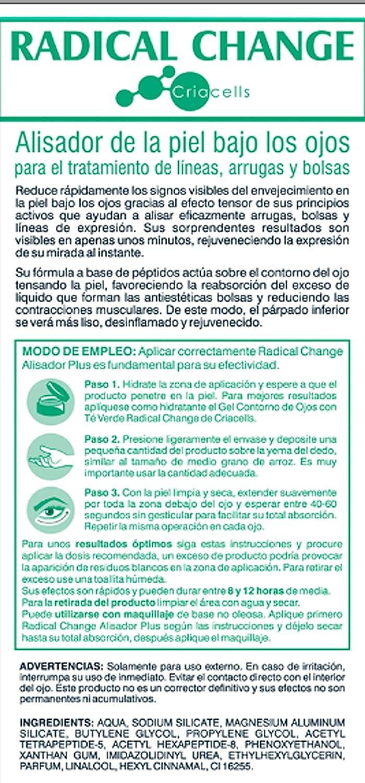 RADICAL CHANGE - ALISADOR PLUS - CREMA ANTIOJERAS, LINEAS DE ...