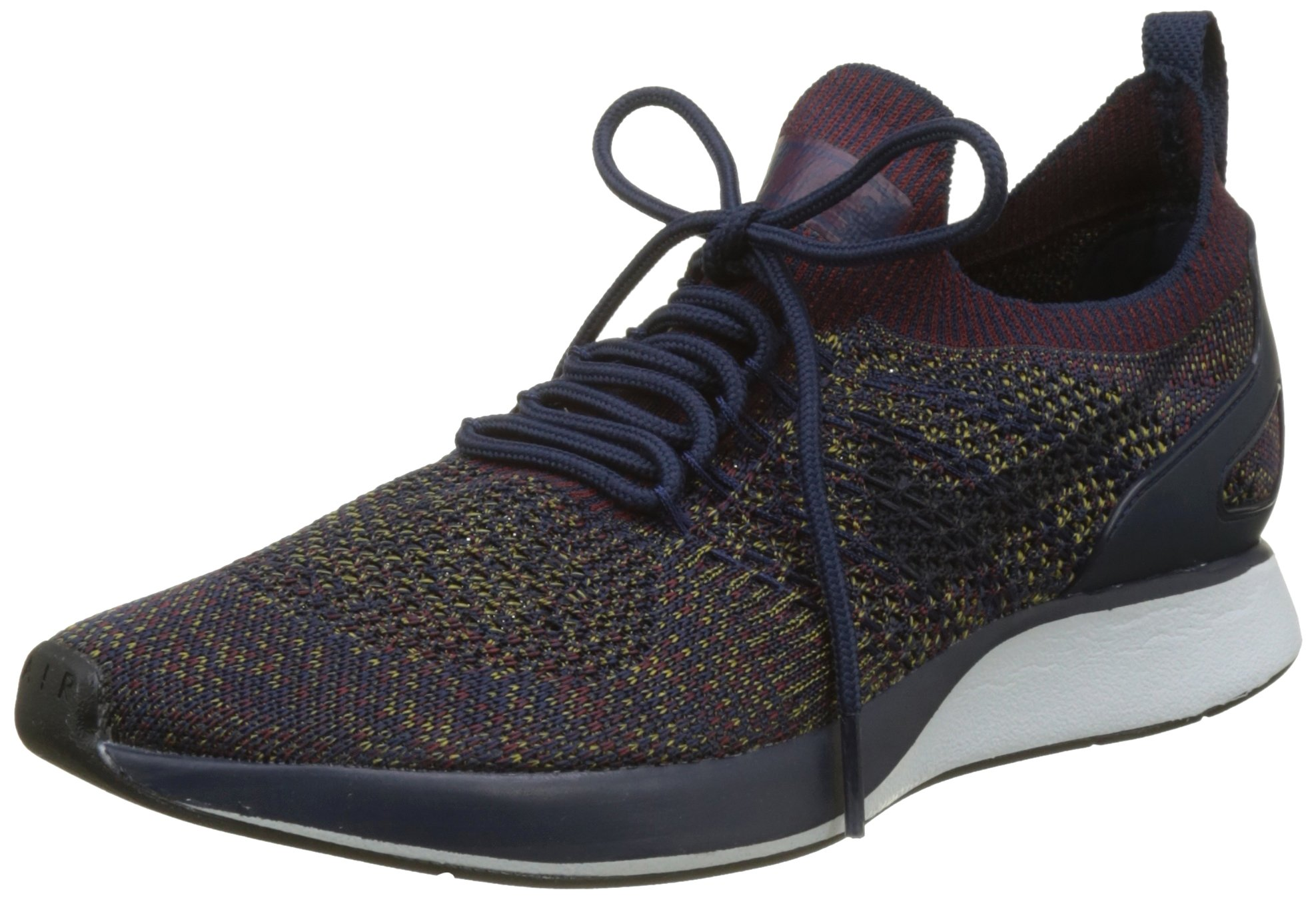 Nike Mens Air Zoom Mariah Flyknit Racer College Navy/Bordeaux-Desert Moss (12 D (M) US) by NIKE