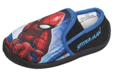 fc26283f9362 Marvel Ultimate Spiderman Boys Slippers  Amazon.co.uk  Shoes   Bags