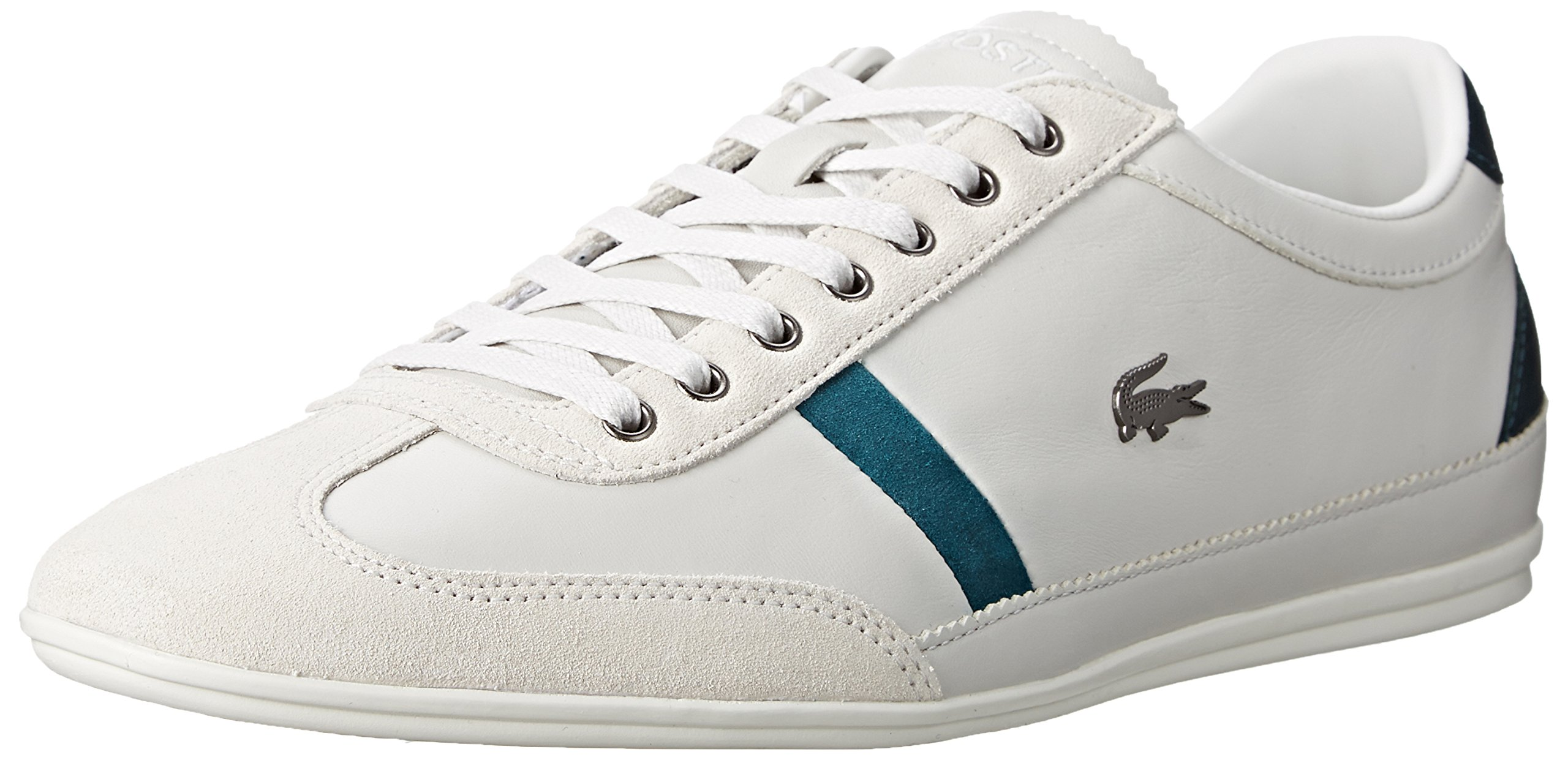 Lacoste Men's Misano 33 Fashion Sneaker, Off White, 9 M US