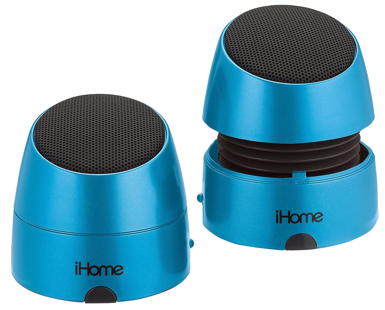 iHome iHM79 Rechargeable Mini Speakers: Amazon.co.uk: Electronics