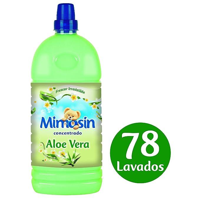 Mimosín Aloe Vera Suavizante Concentrado para 78 lavados - 8 Suavizantes: Amazon.es: Salud y cuidado personal