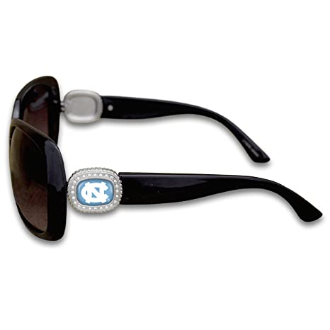 4cc392fb747d Image Unavailable. Image not available for. Color  FTH North Carolina Tar  Heels Chantilly Sunglasses Embellished with Rhinestone Logo