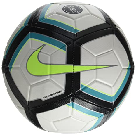 b99cd918f66 Nike Strike Team Lightweight Ball (White/Black/Turquoise/Volt) (5