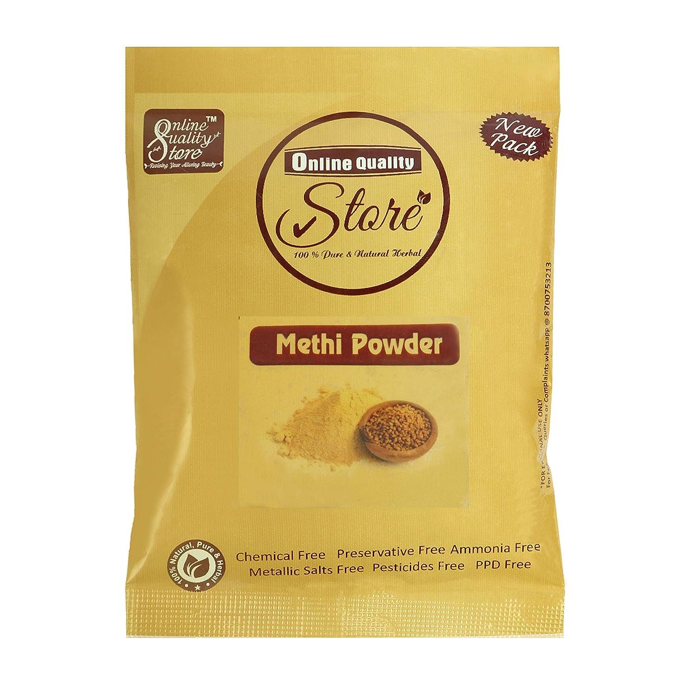 Online Quality Store fenugreek powder (methi seed powder) for hair (50 gm)