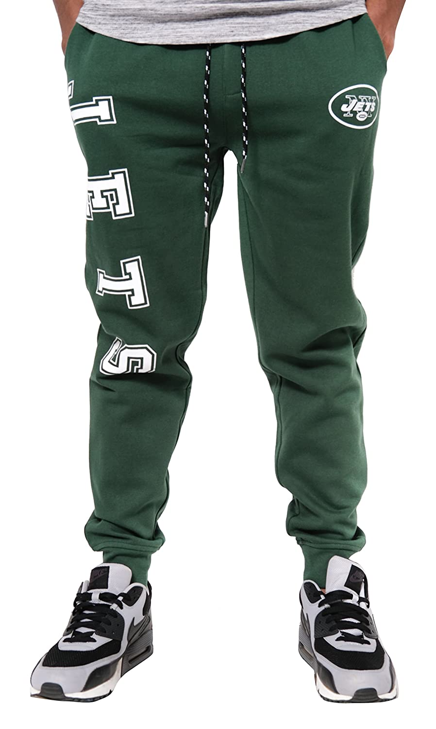 Large NFL New York Jets Ultra Game Mens JOGGER Team Color