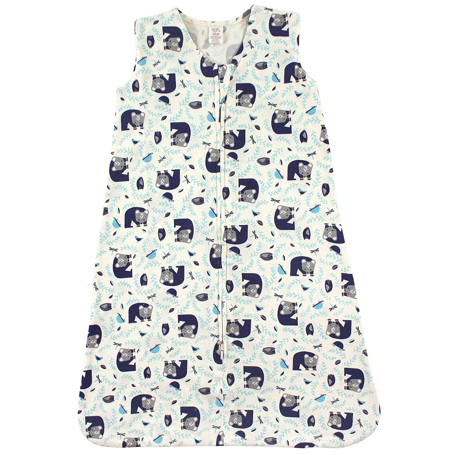 Touched by Nature Unisex Baby Safe Sleep Wearable Organic Cotton Sleeping Bag