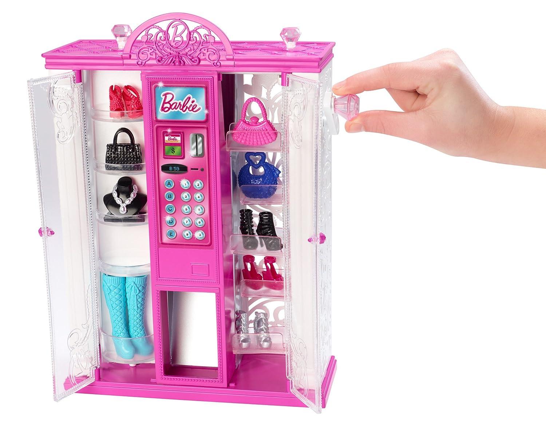 Amazon.es: Mattel BGW09 Barbie - Máquina expendedora de accesorios de moda, diseño de vida en Casa de los sueños: Juguetes y juegos