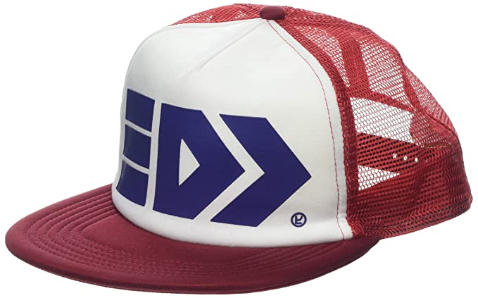 c08cae8672f Nintendo Cap Splatoon Takoroka Mesh Trucker Snapback Red  Amazon.co.uk   Clothing